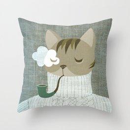 dapper's delight Throw Pillow