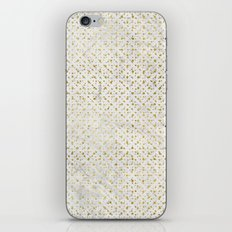 gOld grid iPhone & iPod Skin