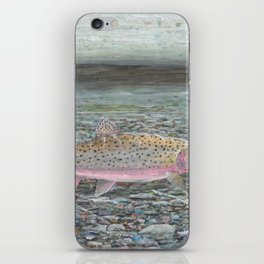Yellowstone Cutthroat Trout iPhone Skin