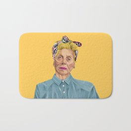 The Israeli Hipster leaders - Shulamit Aloni Bath Mat