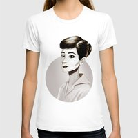 hepburn T-shirts featuring Hepburn by animatorlu