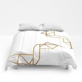 industrial golden glitters Comforters