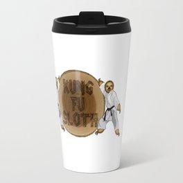 Kung Fu Sloth! Travel Mug