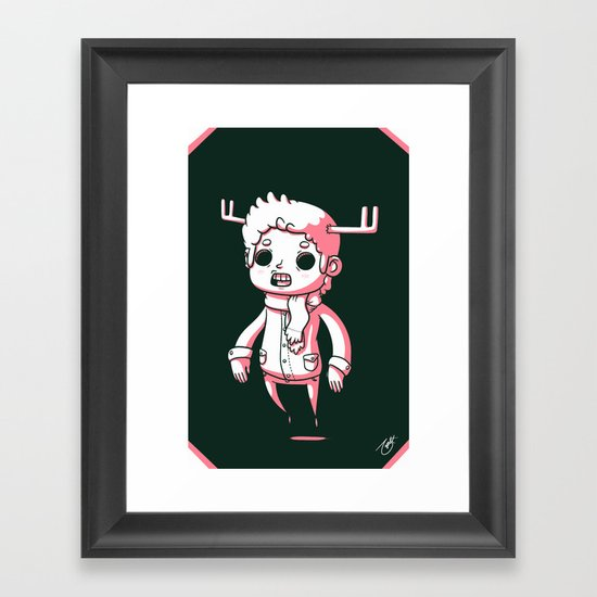 Deer Season Framed Art Print