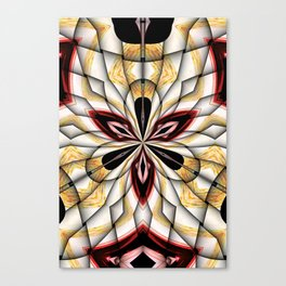 Digital Clover Canvas Print