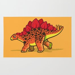 Lil' Stegosaurus Rug