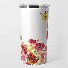 the daily creative project: romantic flowers Travel Mug