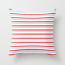 Mariniere and flag - Netherland Throw Pillow