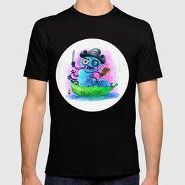 pirate worm T-shirt