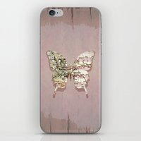 denver iPhone & iPod Skins featuring denver butterfly by Steffi Louis
