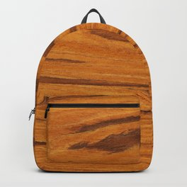 Teak Wood Backpack