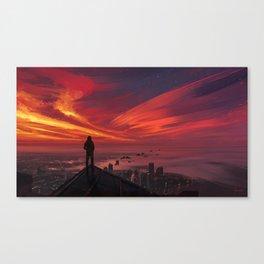 Million Little Pieces Canvas Print