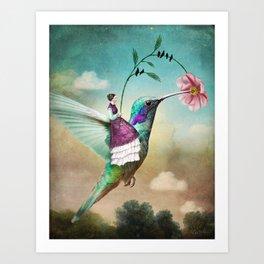 The Hummingbird Art Print