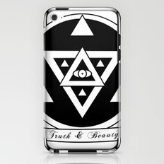 Truth and Beauty iPhone & iPod Skin