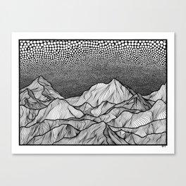 Beyond Canvas Print