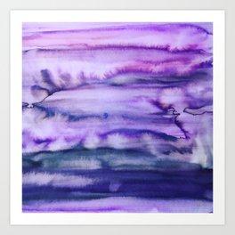Power Purple Art Print