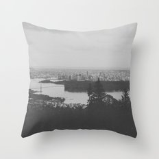 vancouver from cypress mountain. Throw Pillow