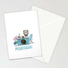 Blue Bookstagram Stationery Cards
