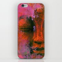 meditation iPhone & iPod Skins featuring Meditation by zAcheR-fineT