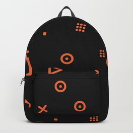 Happy Particles - Black Backpack
