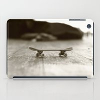 skateboard iPad Cases featuring Finger Skateboard by Evi Radauscher