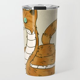 Cat Snake Travel Mug