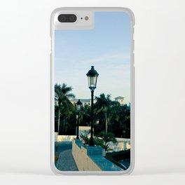"""Leaving The Riu"" Clear iPhone Case"