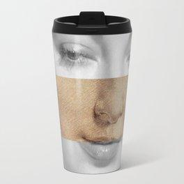 Leonardo da Vinci Head of Woman & Ava Gardner Travel Mug