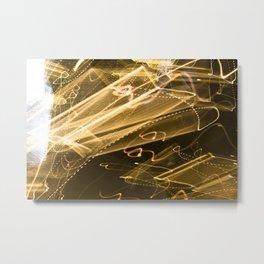 Clutter Metal Print