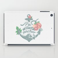 anchor iPad Cases featuring Anchor by siny