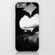 Heart Hands Black & White iPhone 6s Slim Case