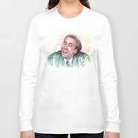 nicolas cage Long Sleeve T-shirts featuring Nicolas Cage You Don't Say by Olechka