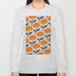 Floral_pattern Long Sleeve T-shirt