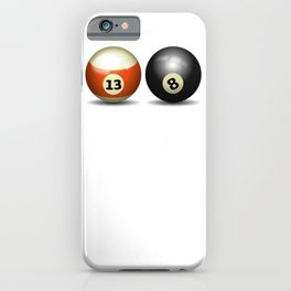 Pool Break it Up Pool Balls Billiards iPhone Case