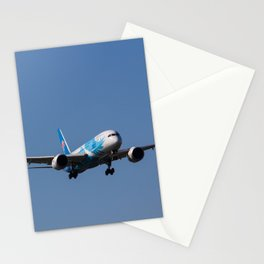 China Southern Airlines Boeing 787 Dreamliner Stationery Cards