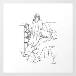Messy Room, Messy Life Art Print