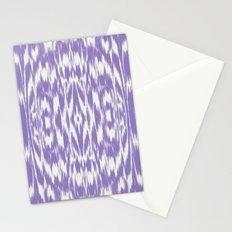 Ikat: Lavender  Stationery Cards
