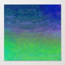Blue Blizzard Canvas Print