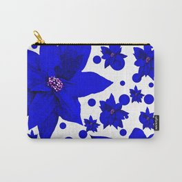 Poinsettia Holiday Pattern Carry-All Pouch