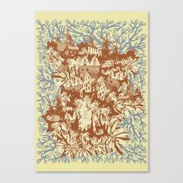 Several Arguments Canvas Print