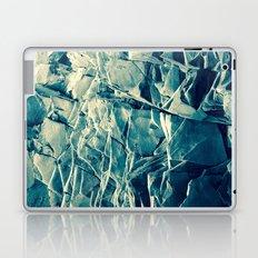 Cracked Rocks Blue Laptop & iPad Skin