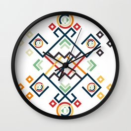 Back to the Roots Wall Clock