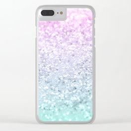 Mermaid Girls Glitter #1 (2019 Pastel Version) #shiny #decor #art #society6 Clear iPhone Case