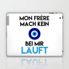 MON FRERE MACH KEIN AUGE BEI MIR LÄUFT Laptop & iPad Skin