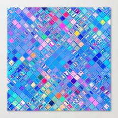 Re-Created  Mosaic No. EIGHT by Robert S. Lee Canvas Print