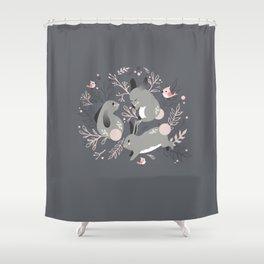 Bunny Meadow Shower Curtain