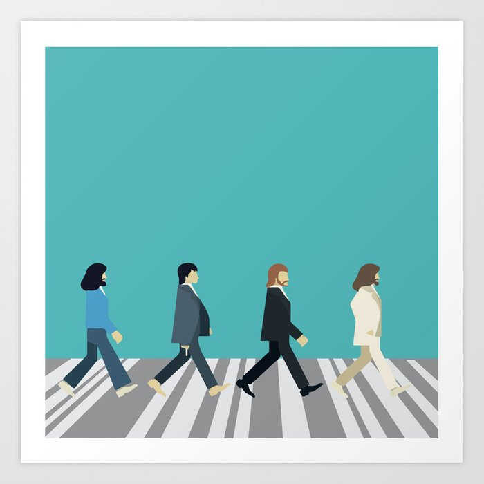 The tiny Abbey Road Kunstdrucke