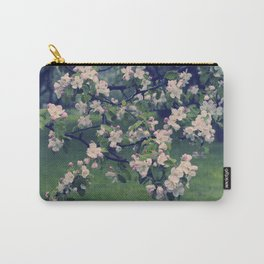 Blossoming Spring Garden Carry-All Pouch