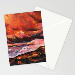 July in New Mexico Stationery Cards