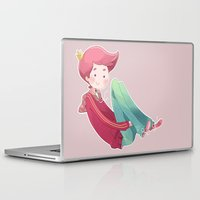 gumball Laptop & iPad Skins featuring Prince Gumball by Sei00